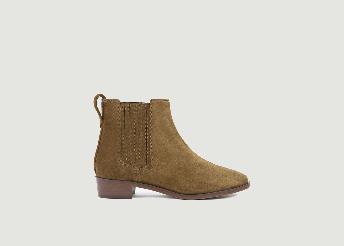 Chelsea boots en cuir suédé n°69 - Rivecour