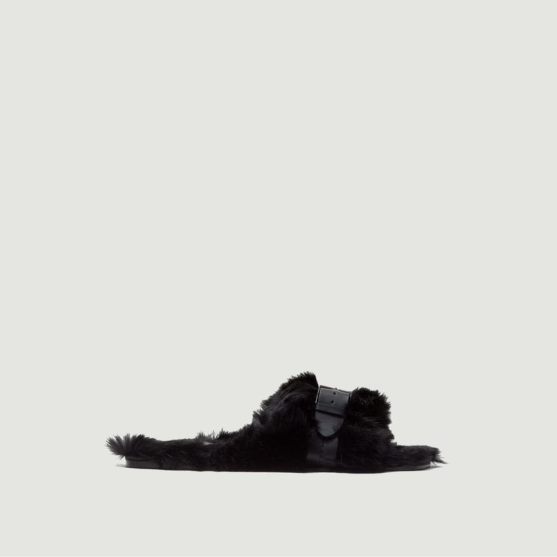 Sandales en fourrure Irina  - Clergerie