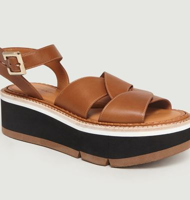Sandales Compensées Adelaide