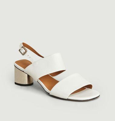 Sandales En Cuir Léonie
