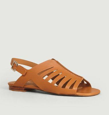 Sandales en cuir Isaura
