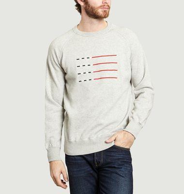 Sweatshirt Swim Lines
