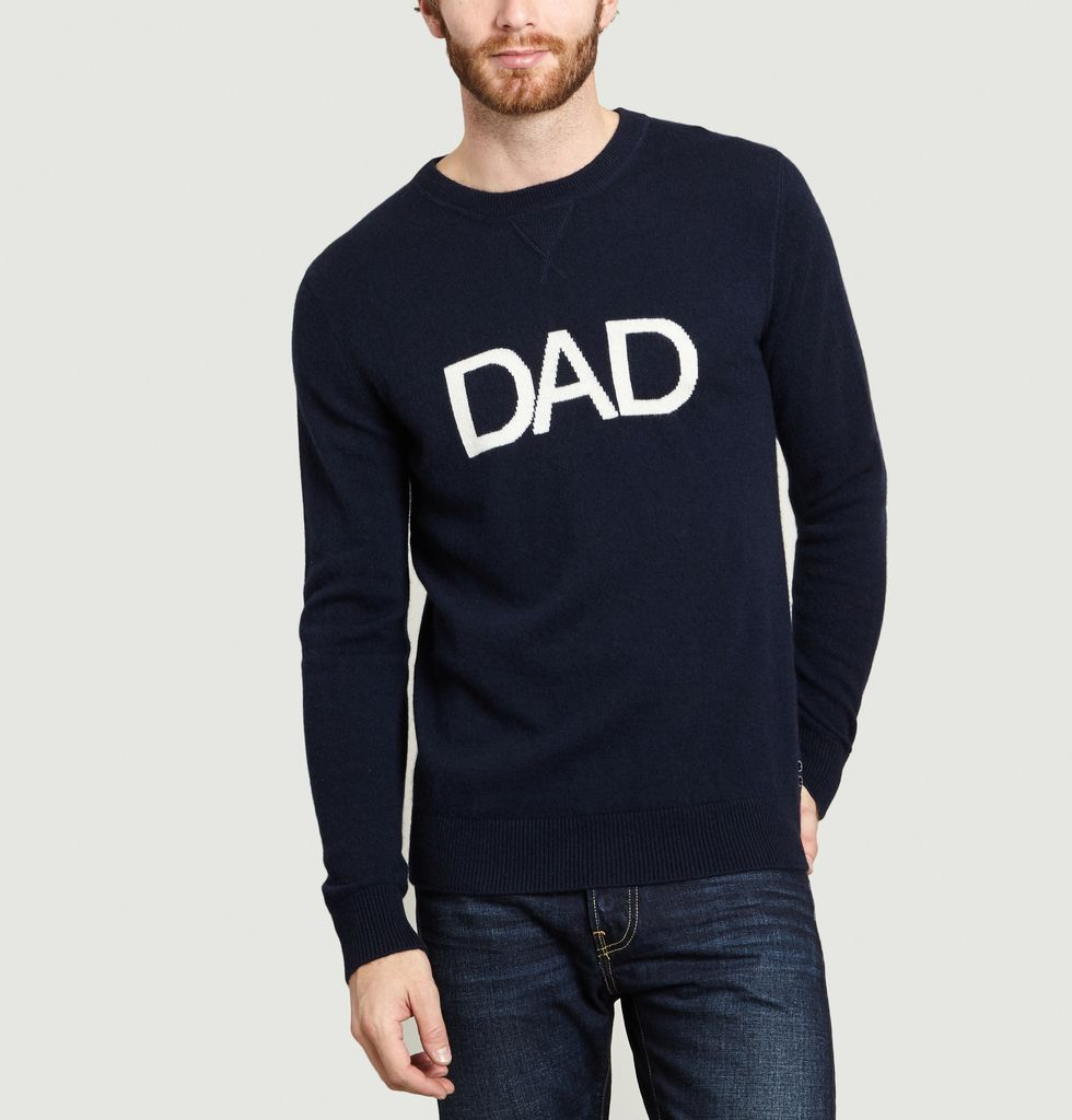 Dad Bleu Cachemire Marineron DorffL'exception Sweatshirt vm8nw0NO
