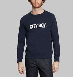 Sweatshirt City Boy