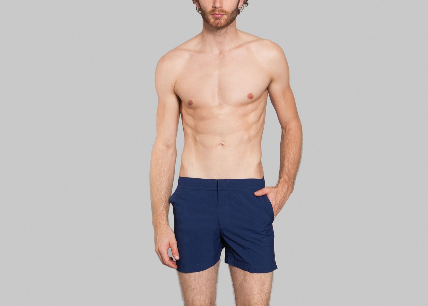 4b8c46fe8f SwimGym Shorts Navy Blue Ron Dorff | L'Exception
