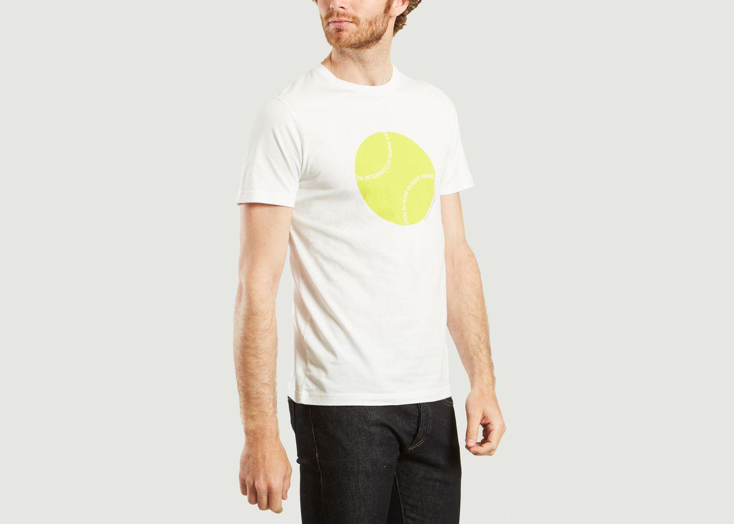 T-Shirt Yellow Ball  - Ron Dorff
