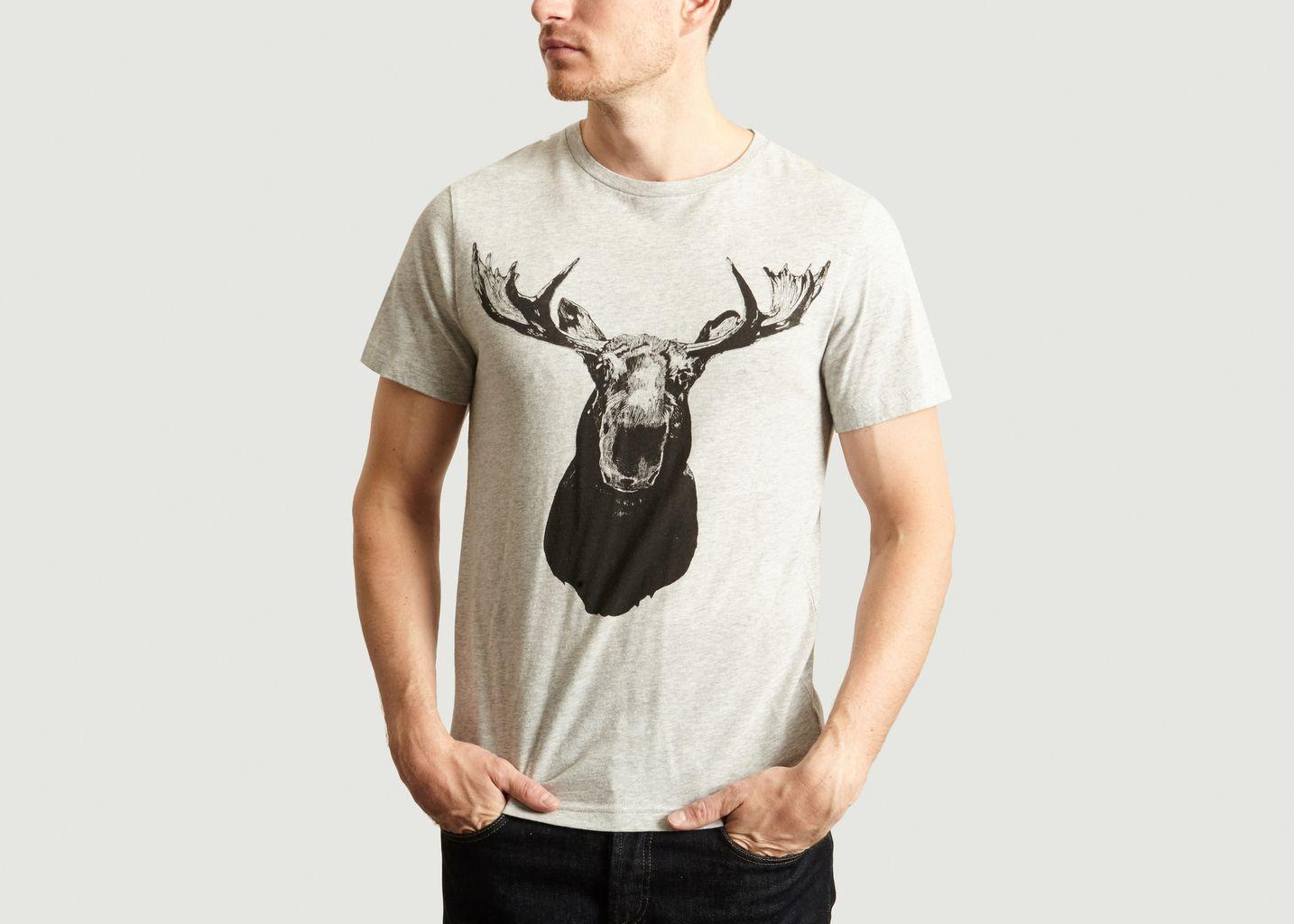 T-shirt Moose - Ron Dorff
