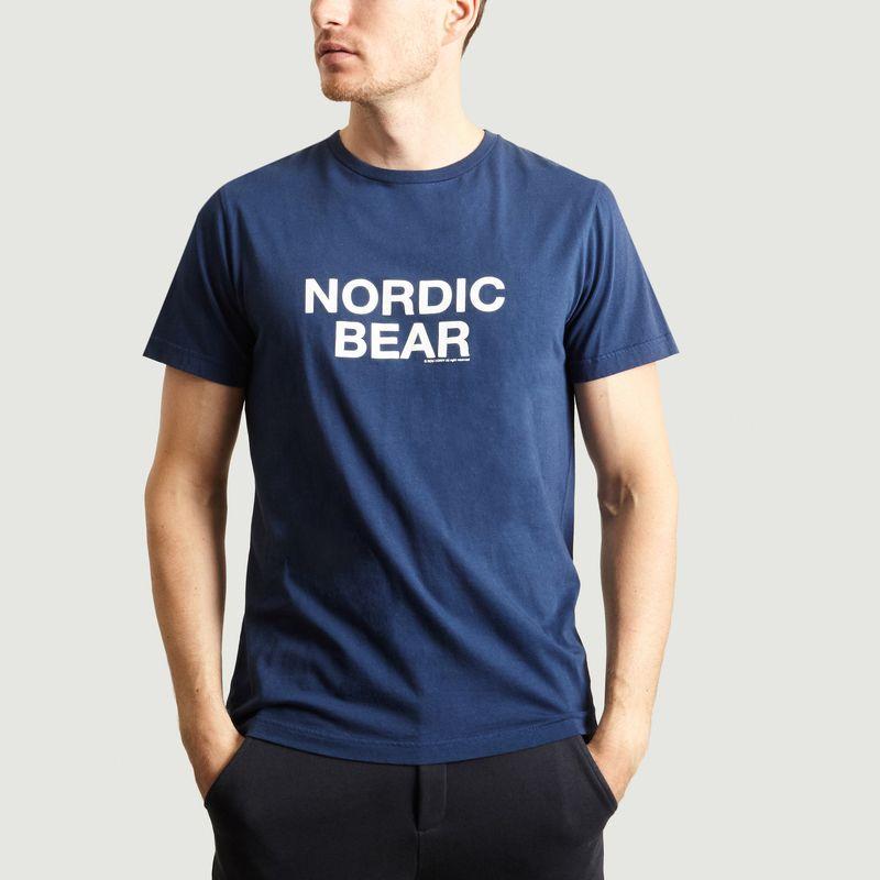 T-shirt Nordic Bear - Ron Dorff
