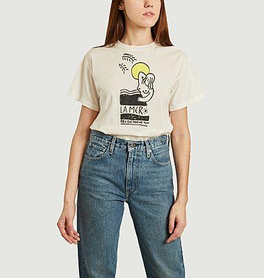 T-shirt Never la mer