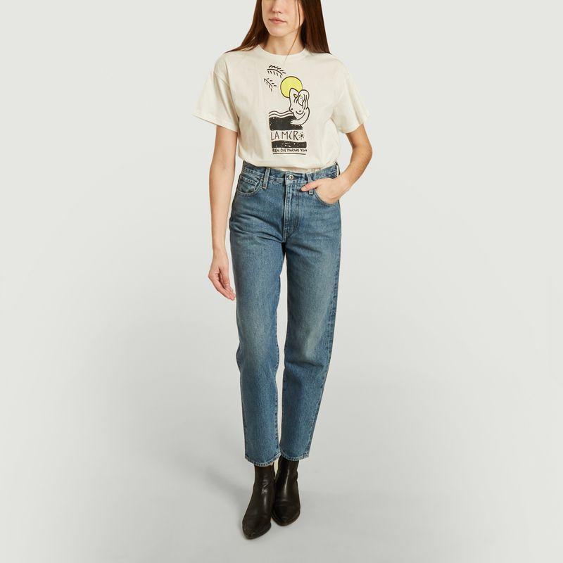T-shirt Never la mer  - Roseanna