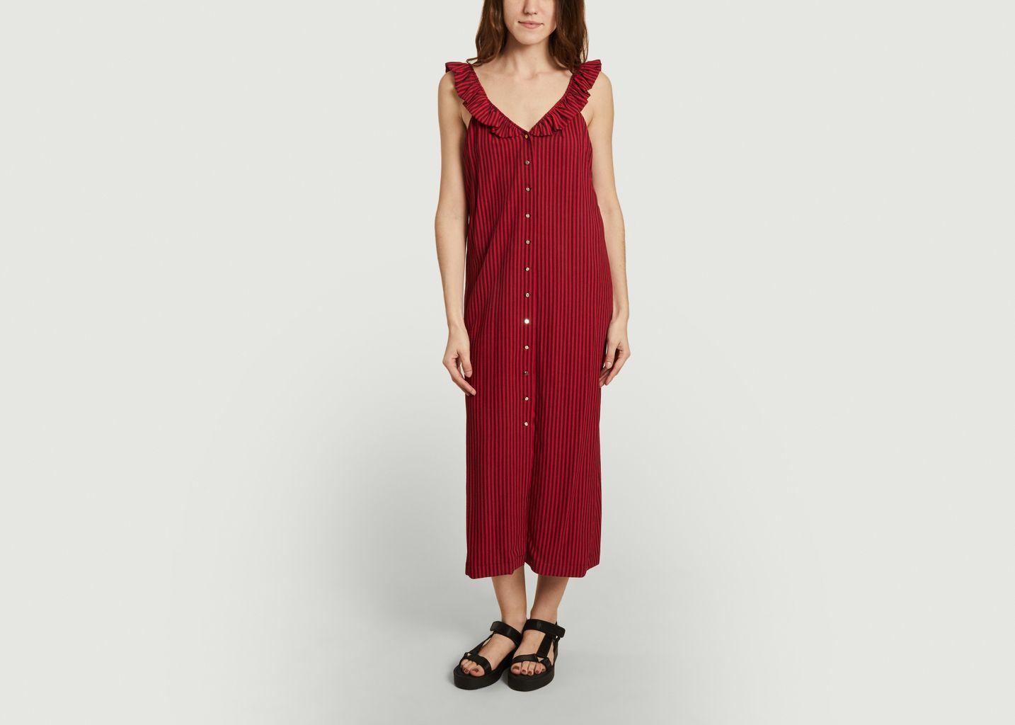 Robe rayée sans manche Lulla Melina - Roseanna