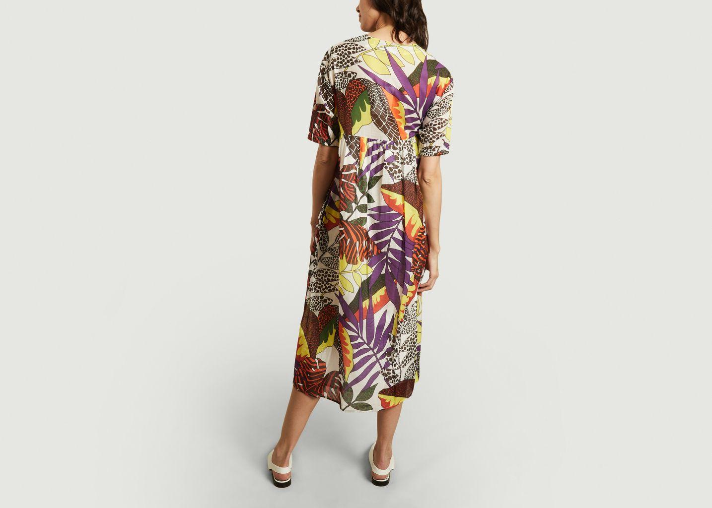 Robe longue imprimée Ursuotis  - Roseanna