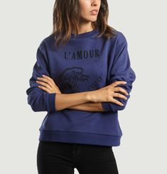 Wavelack Love Sweatshirt