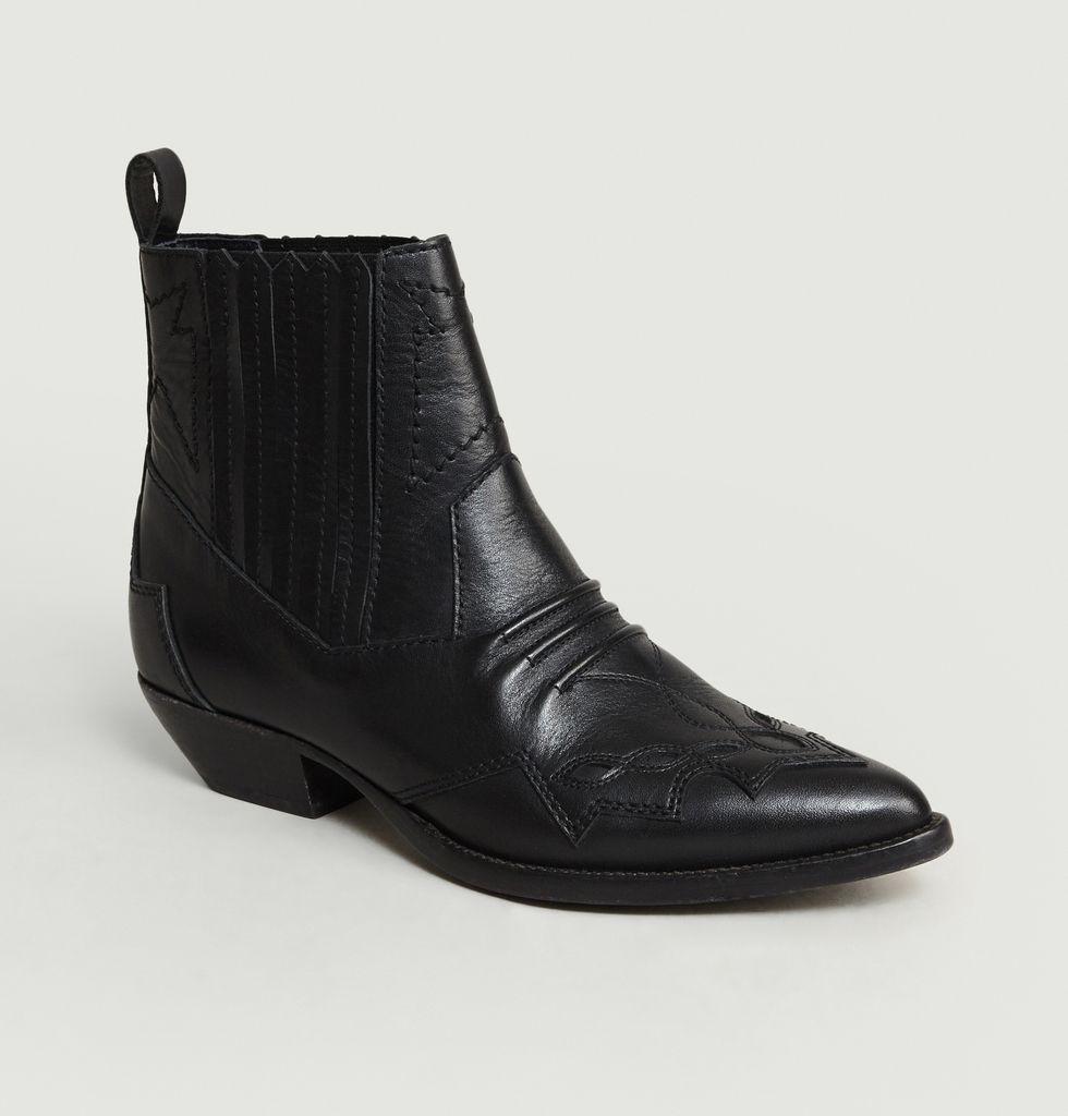 Boots Santiags Tucson Noir Roseanna | L'Exception