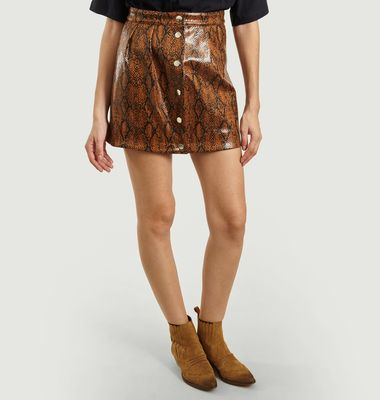 Vegan Leather Elio Skirt