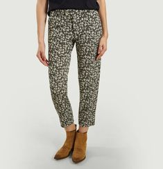 Printed Janet Trousers