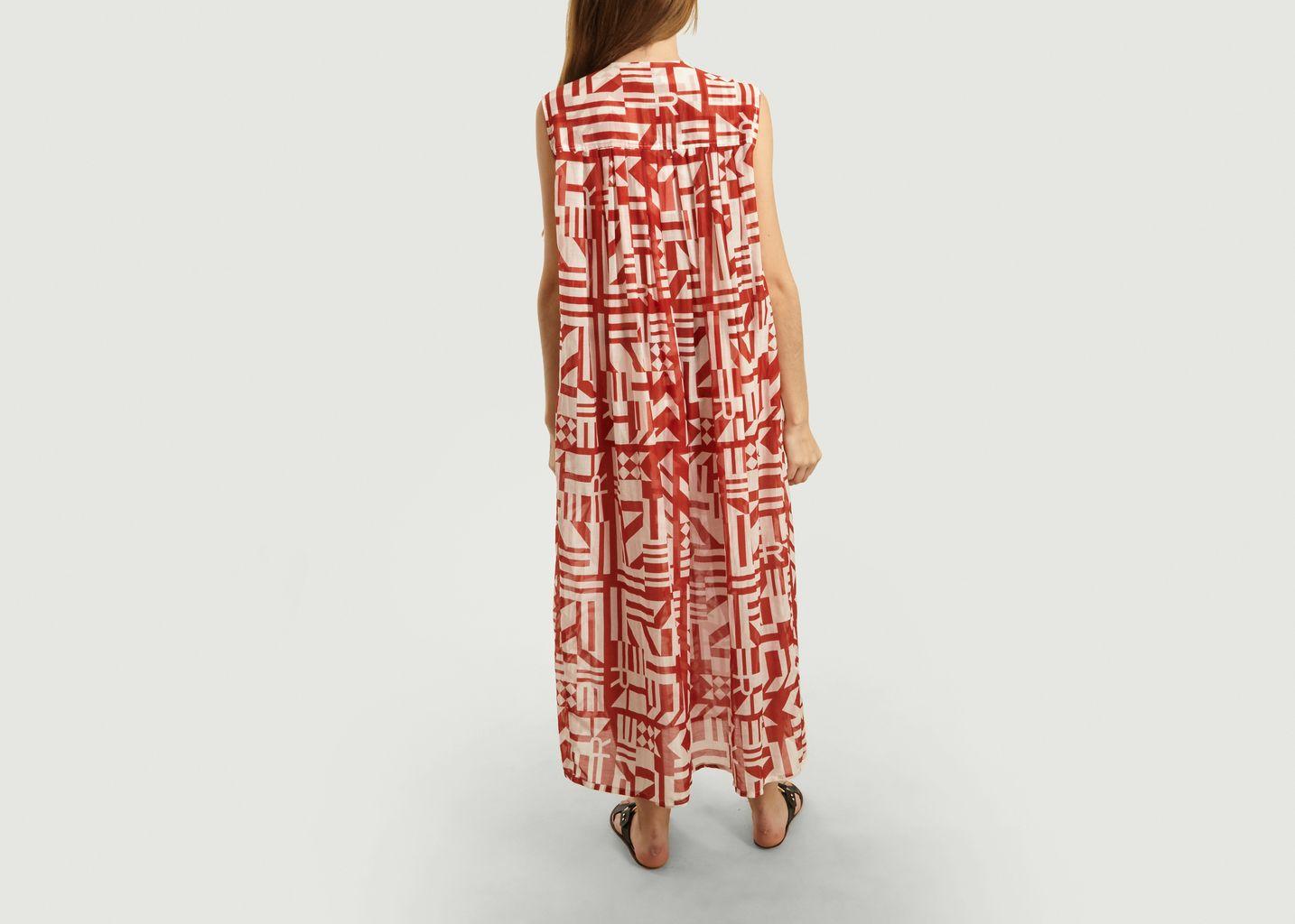 Robe Slow Imprimé Graphique - Roseanna
