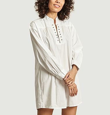 Odd short shirt dress