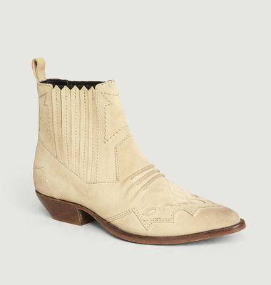 Boots Tucson Inspiration Santiags Ciment