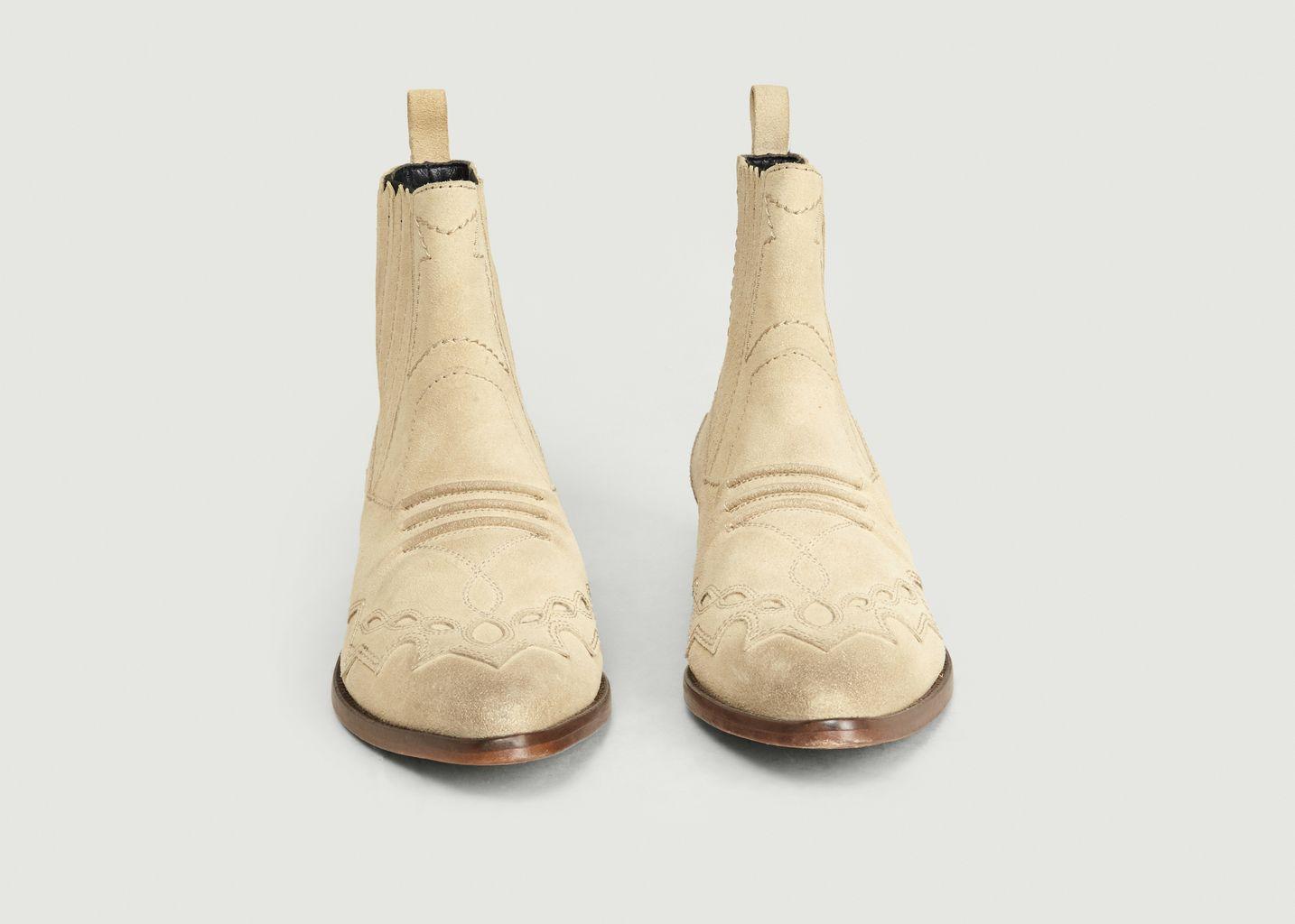 Boots Tucson Inspiration Santiags Ciment - Roseanna
