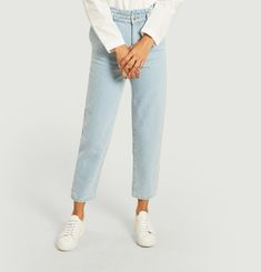 Face organic cotton jean