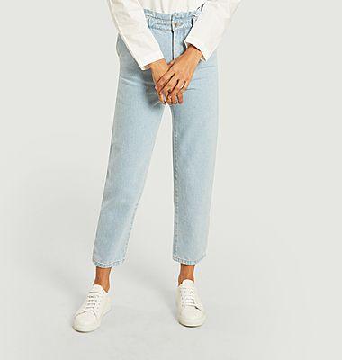 Face organic cotton jean
