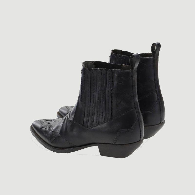 Boots en cuir Tucson - Roseanna