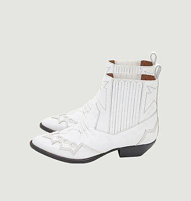 Boots en cuir Tucson