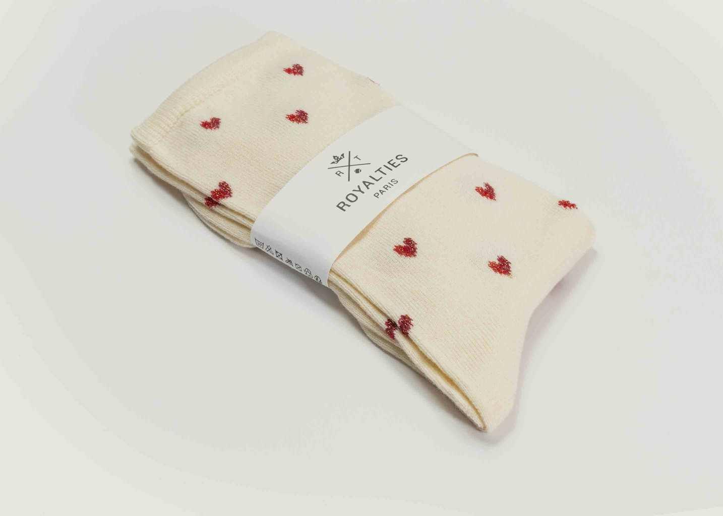 Chaussettes Love - Royalties