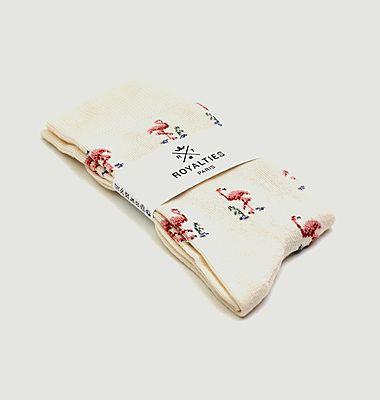 Flamingo Sock
