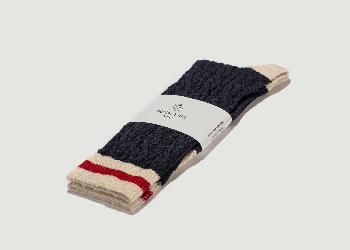 Chaussettes Torsades - Royalties