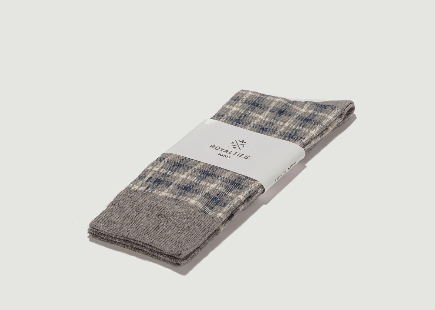 Chaussettes Greg à Carreaux - Royalties