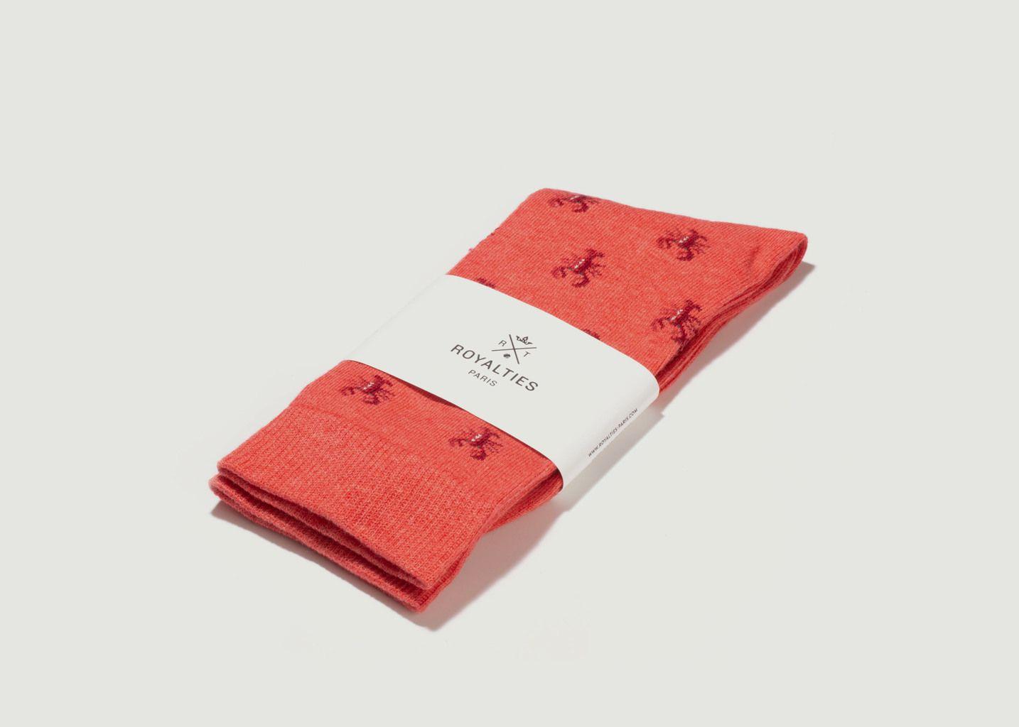 Chaussettes Homard - Royalties