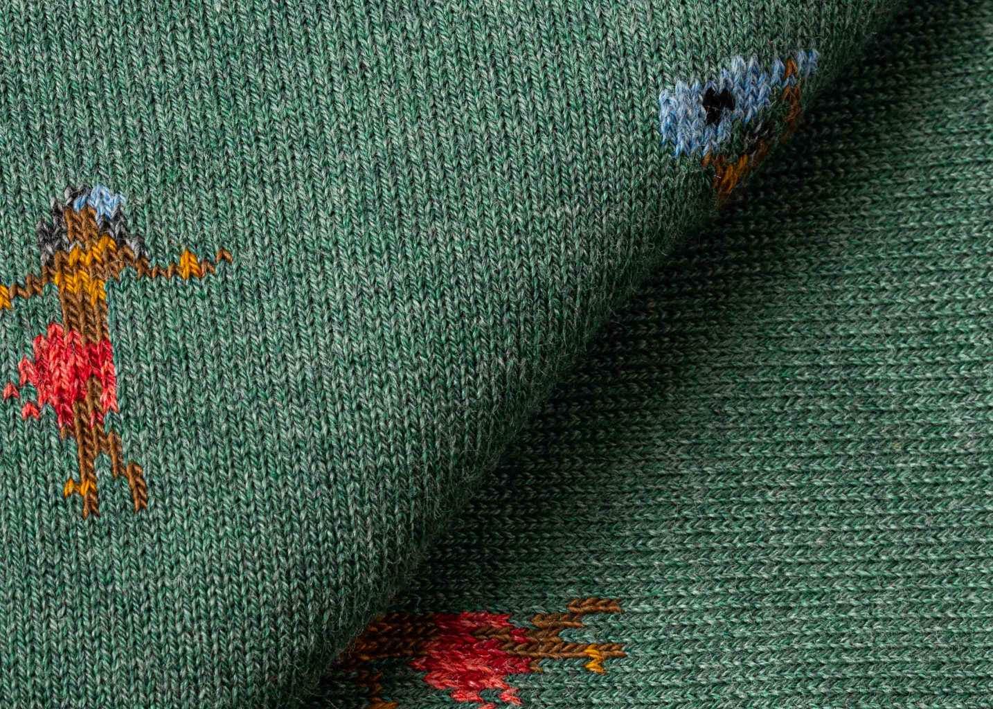 Chaussettes motif vahinés Hulagirl - Royalties