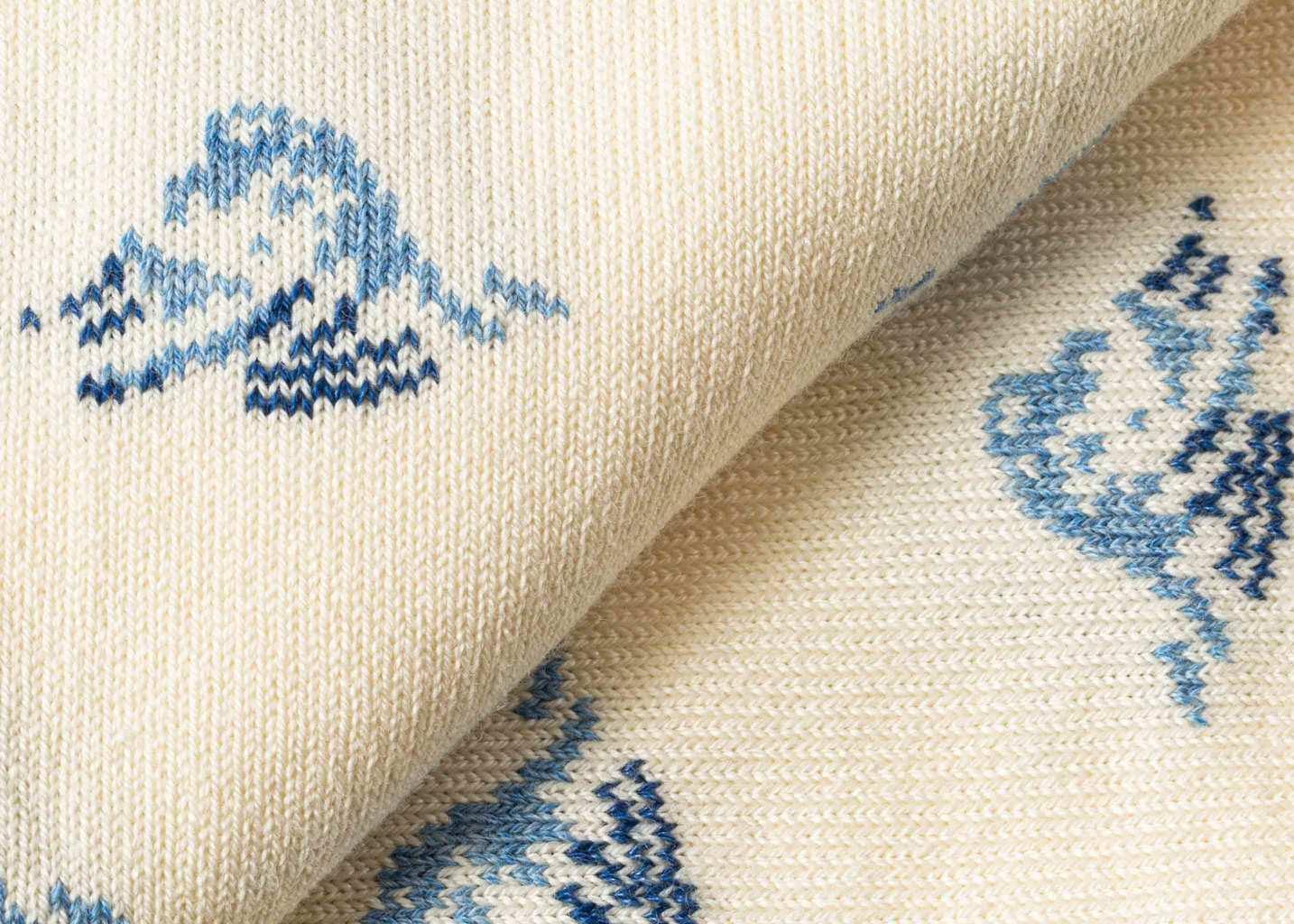 Chaussettes motif vagues Robinson - Royalties