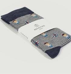 Sailor striped socks
