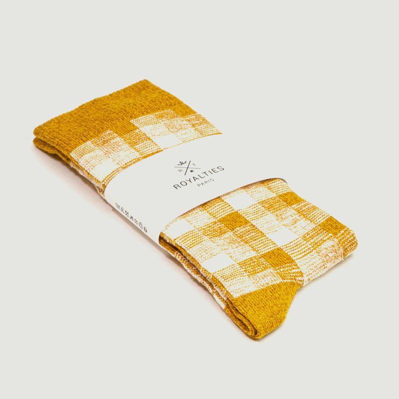 Chaussettes à carreaux Harvey - Royalties