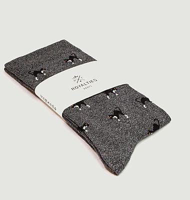 Chaussettes motif chats Koko