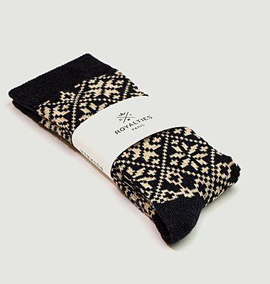 Chaussettes motif fantaisie Moritz