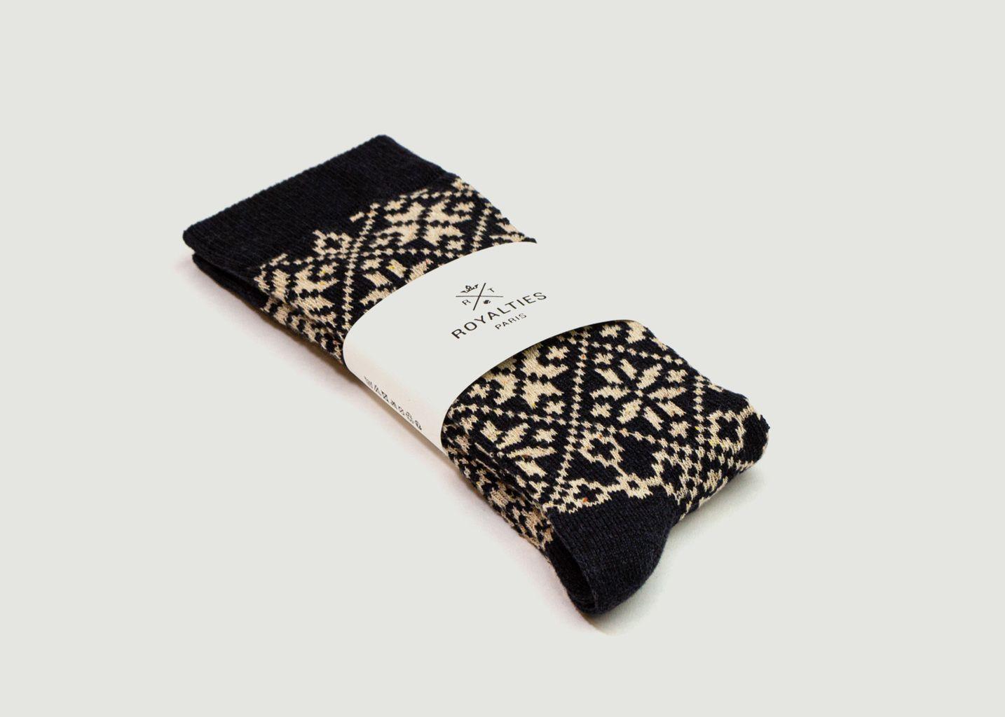 Chaussettes motif fantaisie Moritz - Royalties