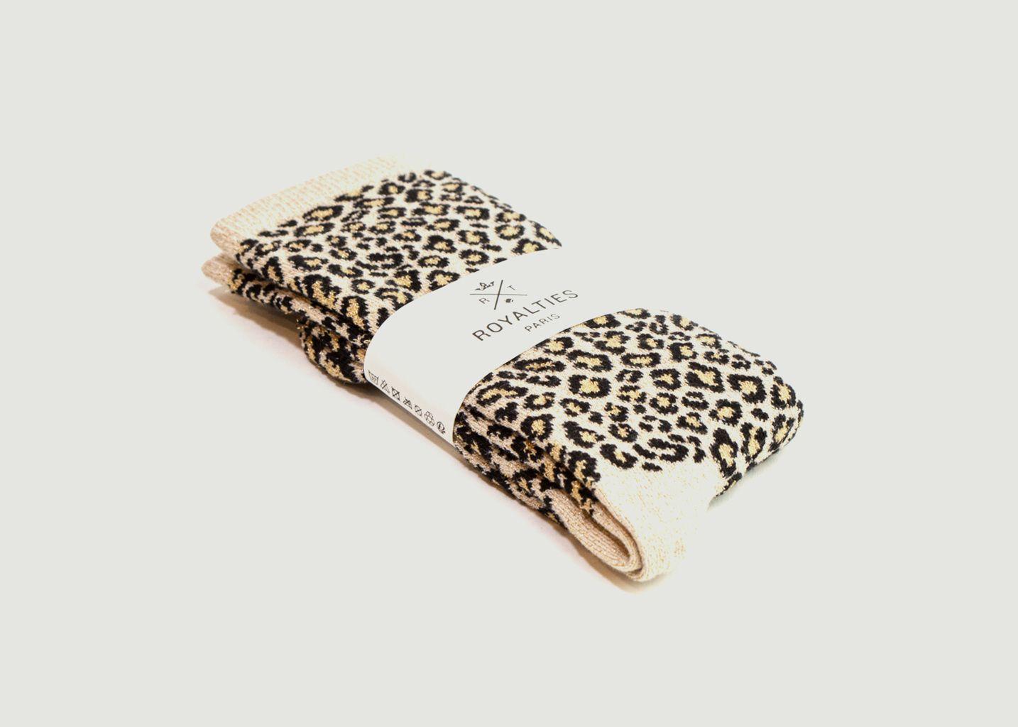 Chaussettes motif léopard Lea - Royalties