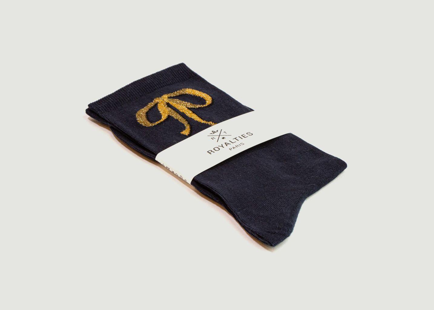 Chaussettes motif nœud Milady - Royalties
