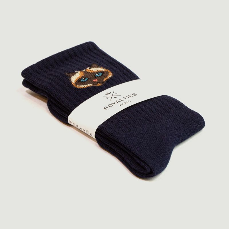 Chaussettes motif chat Pussy - Royalties