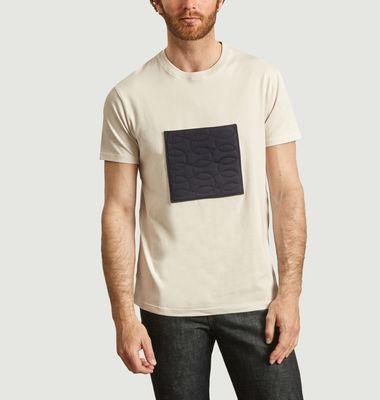 T-shirt poche brodée