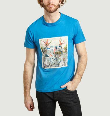 T-shirt imprimé Timbre Camargue