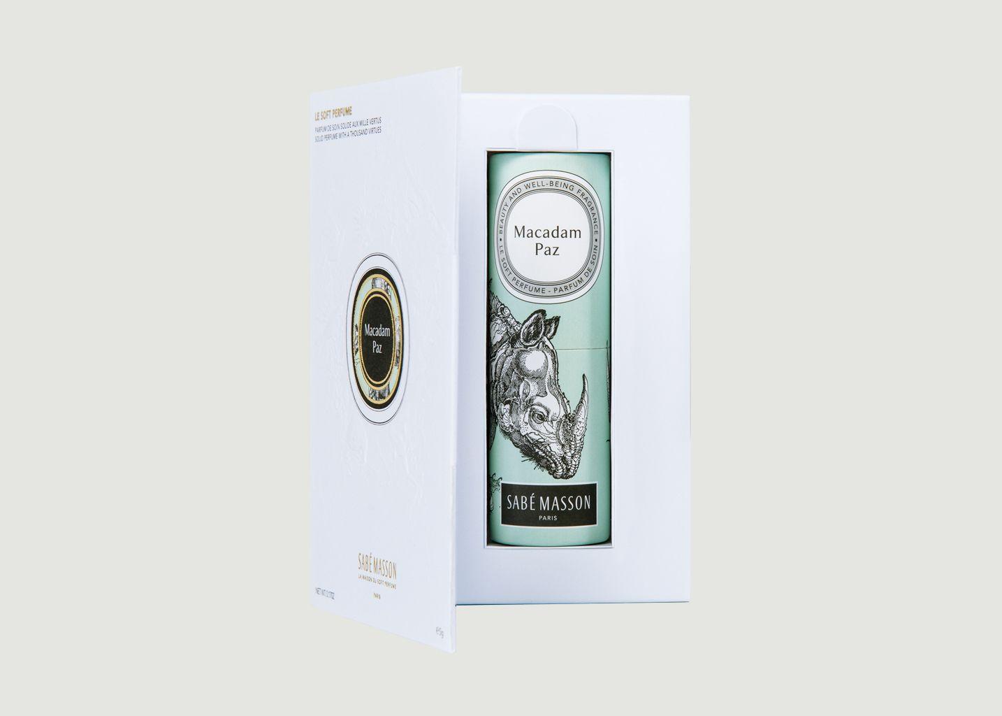 Soft Perfume Macadam Paz - Sabé Masson
