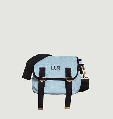 Petit sac en toile denim used