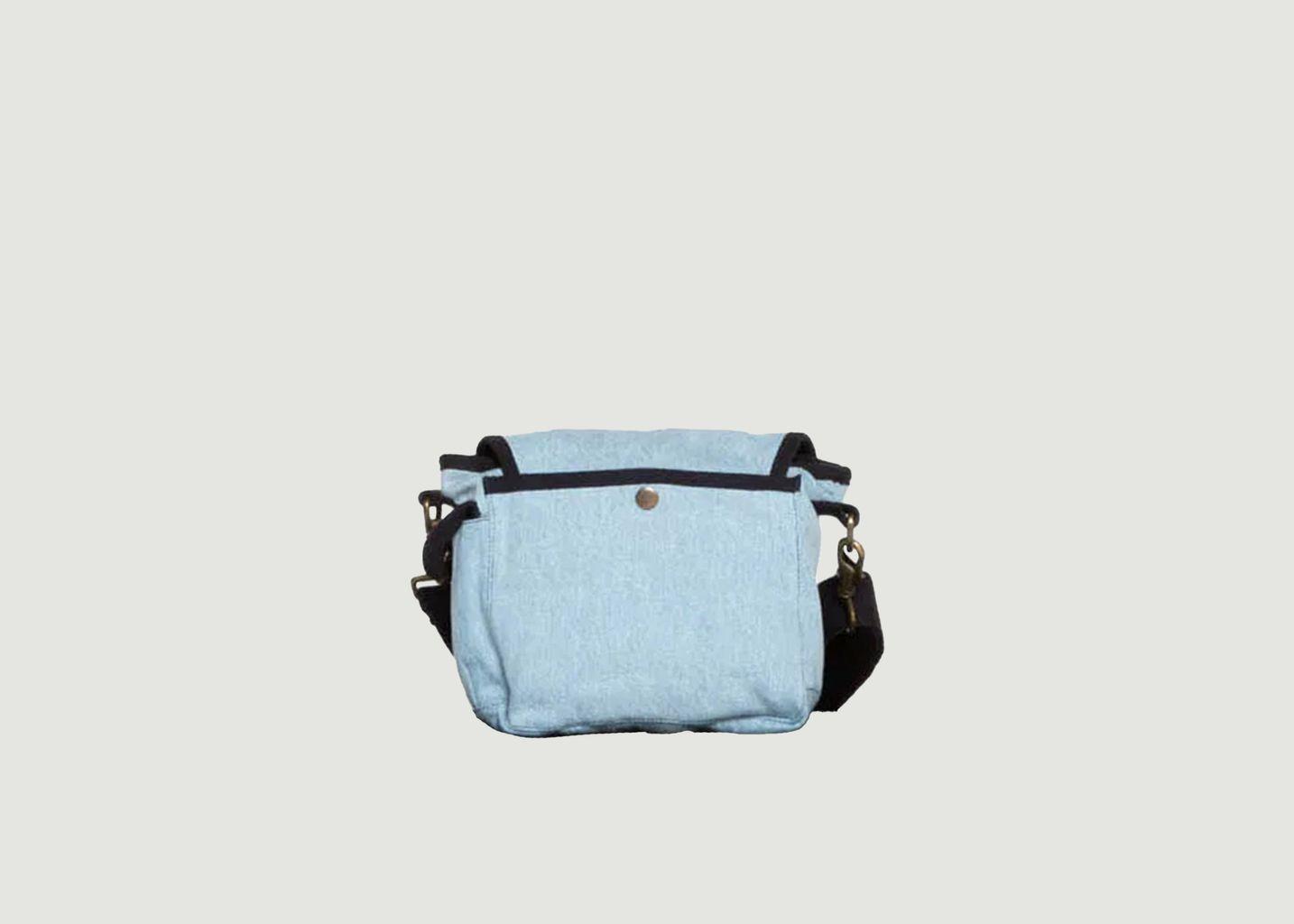 Petit sac en toile denim used - SAC US