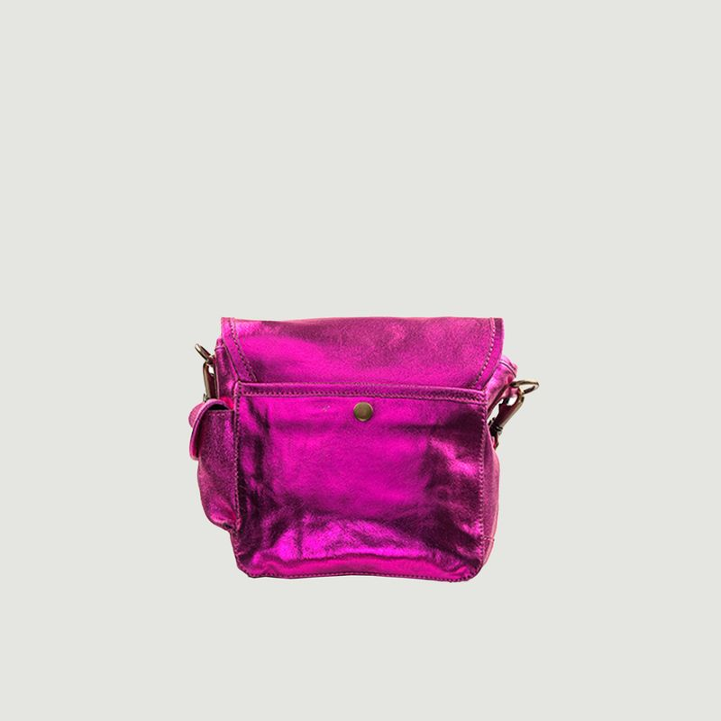 Petit sac en cuir métallisé - SAC US