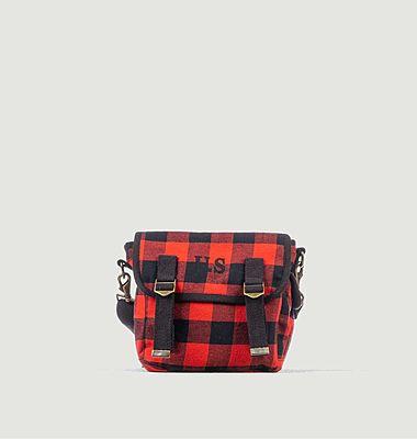 Petit sac toile écossaise